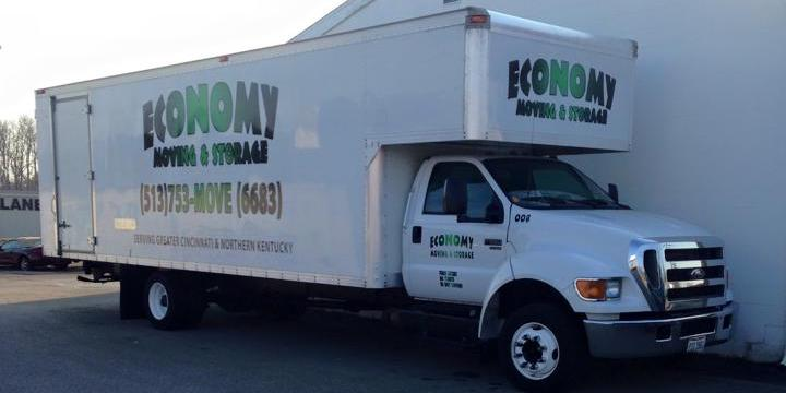 Economy Moving & Storage truck